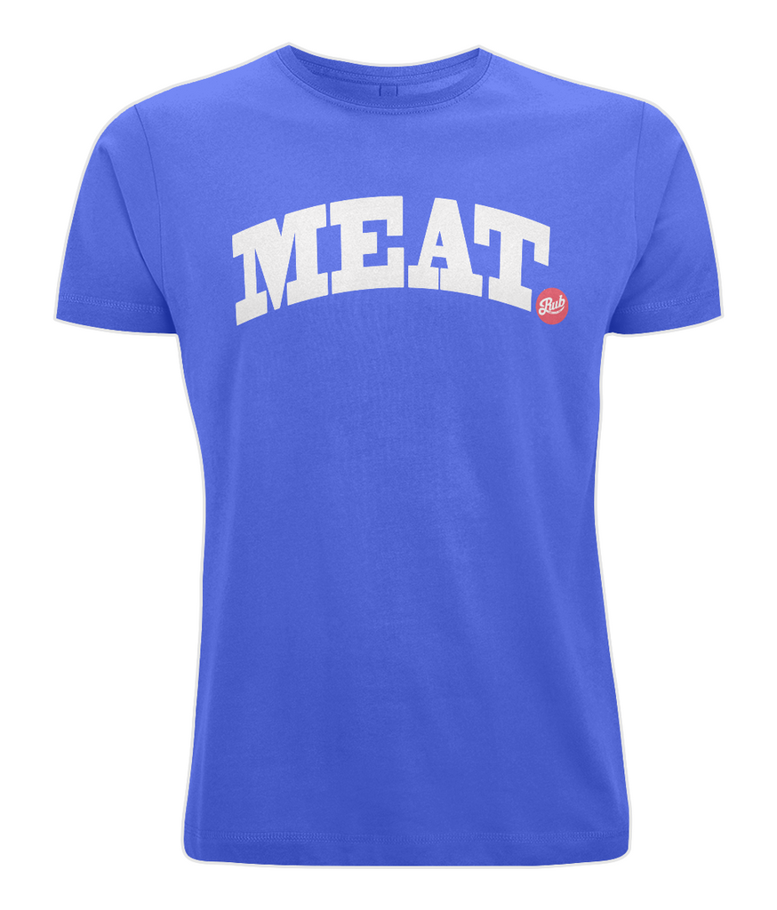 Meat (dot Rub) - Unisex Crew Neck T-Shirt