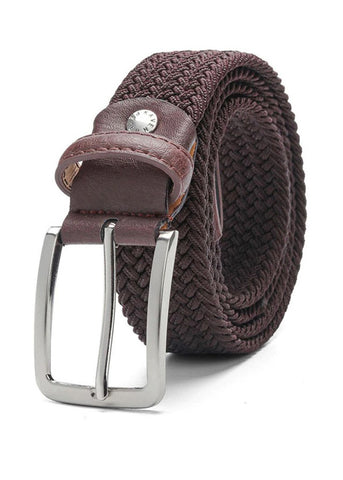 TRS - Ceinture Tresse 105 Dark Brown