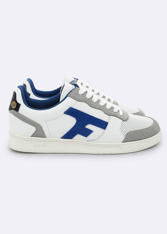 Faguo - Baskets Hazel Leather Suede WHI38