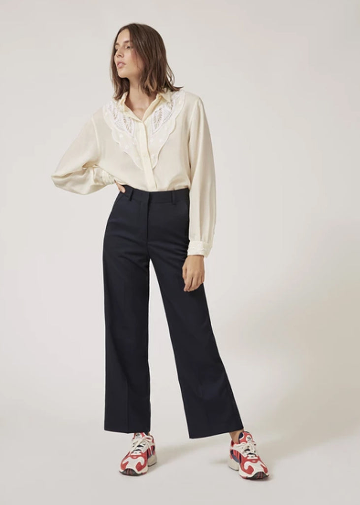 Lab Dip - Pantalon Large Sally Laine Froide