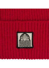 Bask in the Sun - Bonnet Red Patch Beanie