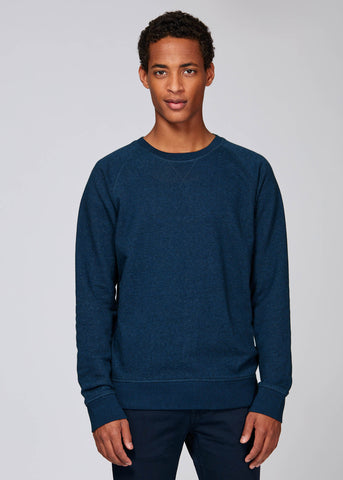 TRS - Sweat Navy Chiné