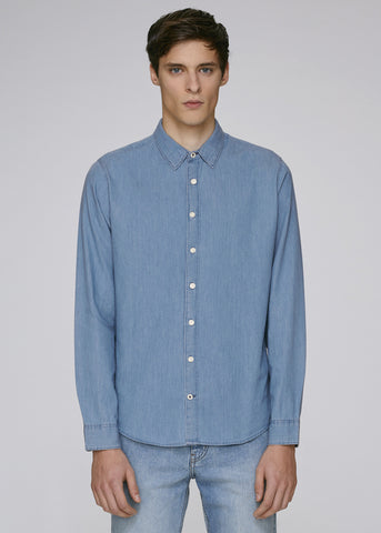 TRS - Chemise Light Indigo Denim