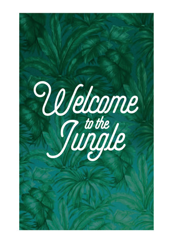 TRS - Carte Postale Welcome to the Jungle
