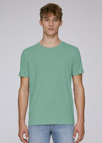 The Rolling Shop - Tee Mid Heather Green
