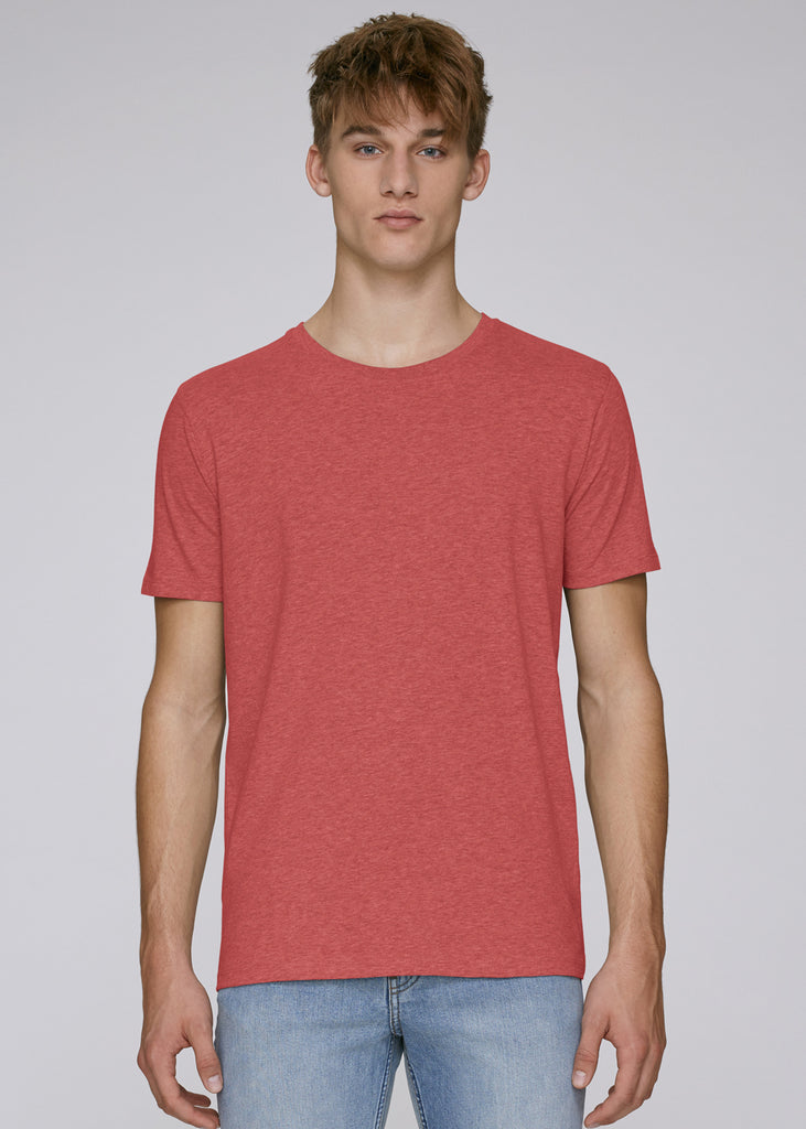 The Rolling Shop - Tee Mid Heather Red