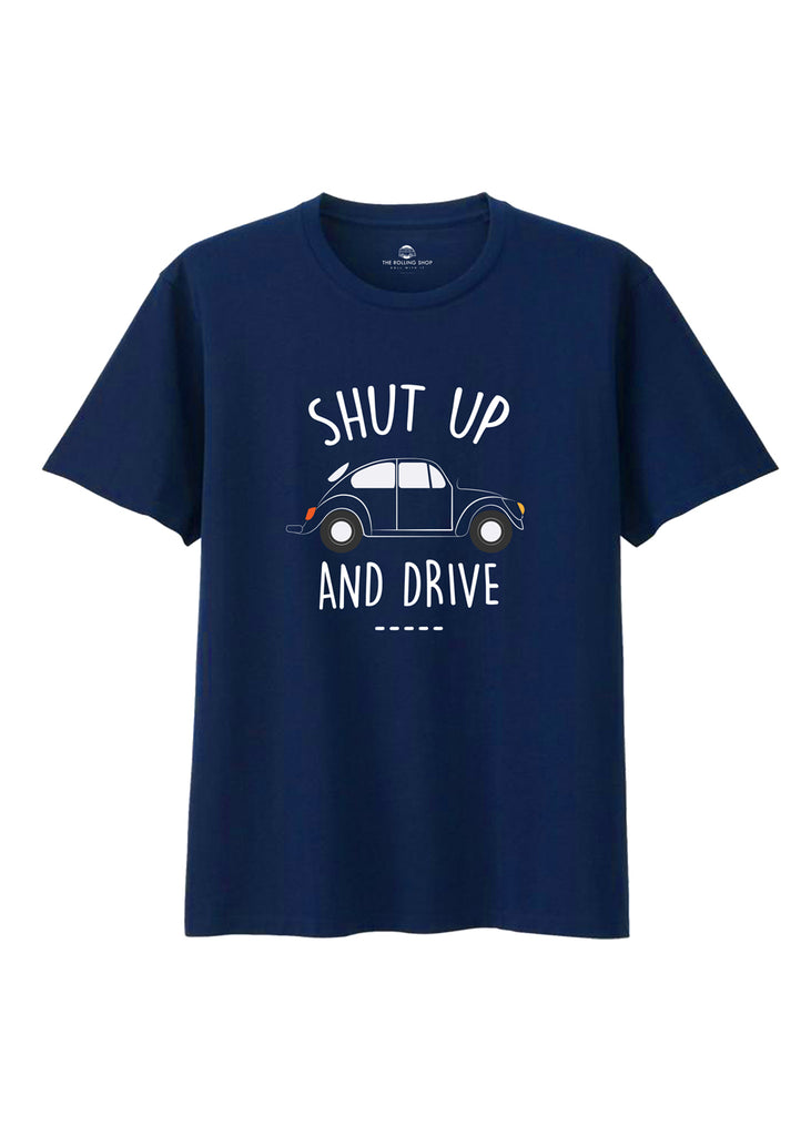 TRS - Tee Shut up and Drive Navy