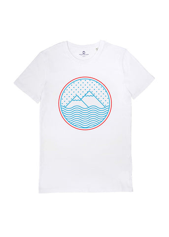 The Rolling Shop - T-shirt Montagne