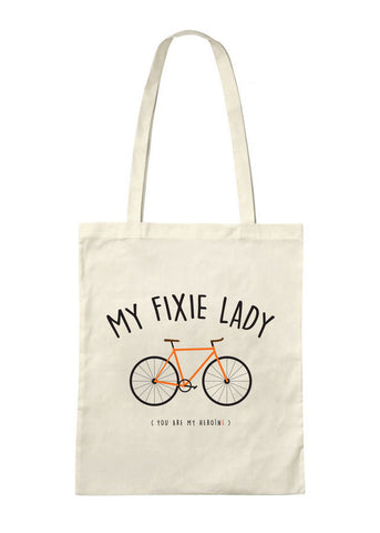 TRS - Tote Bag Fixie Lady