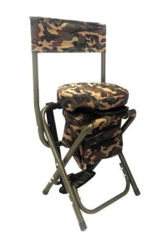 CAMO CHAIR WITH 360 degree SWIVEL SEAT