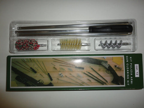 12 Gauge Cleaning Kit SPECIAL OFFER !!!!!! ACCESSORIES GUN CLEANING HUNTING - Woodlands Enterprises Ltd