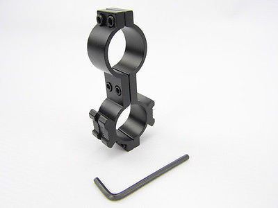 Scope Light Double Screw Fixing Mount Aluminium 25mm Air Rifle Rimfire