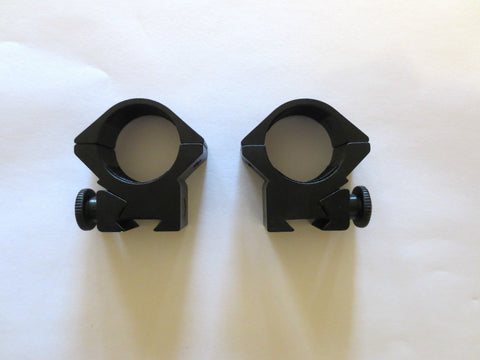 "1"" Medium Scope rings on 3/8""11mm Dovetail Rail mounts for air rifle hunting shootin"