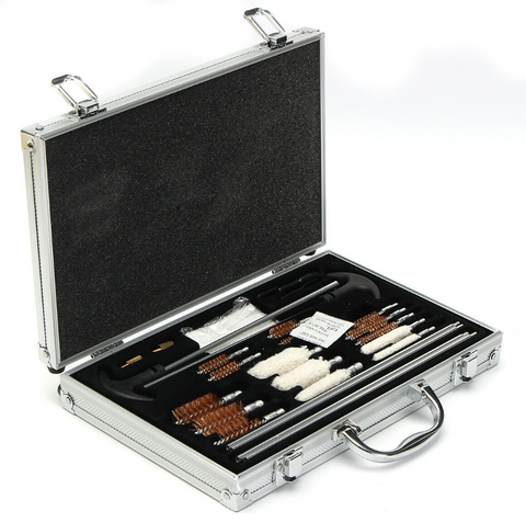 106pcs Gun Cleaning Kit Multi Calibre & Shotgun Rifle in Ally Presentation Case - Woodlands Enterprises Ltd