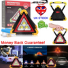 Car Warning Light Triangle Flashing LED COB Work Road Emergency Lamp & POWERBANK