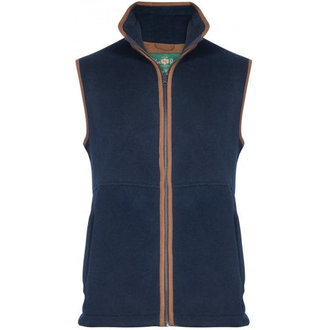 ALAN PAINE AYLSHAM CHILDRENS FLEECE WAISTCOAT - Woodlands Enterprises Ltd