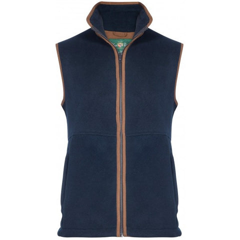 ALAN PAINE AYLSHAM MENS FLEECE WAISTCOAT - CLASSIC FIT - Woodlands Enterprises Ltd