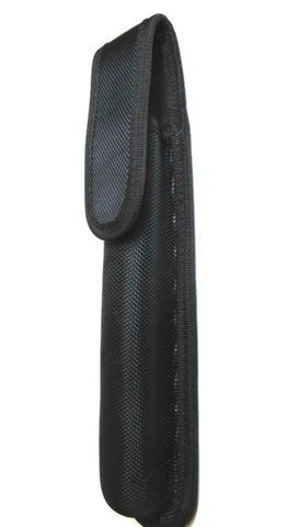 25CM Long Rifle Bolt Pouch Black 600D Cordura Flap Belt Mounted Safety Shooting - Woodlands Enterprises Ltd