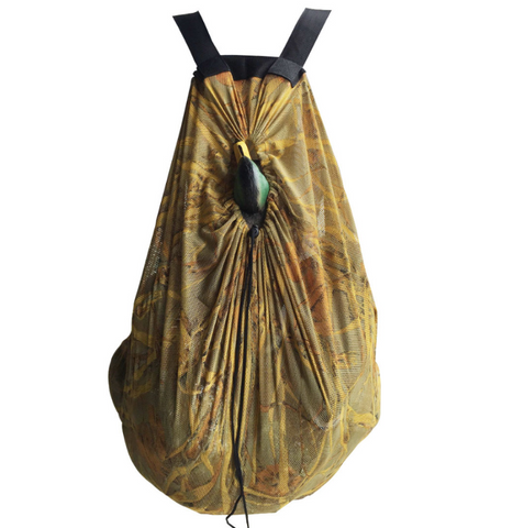 camo decoy storage net