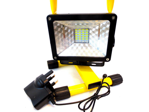 portable work-light hi intensity and emergency flash mode