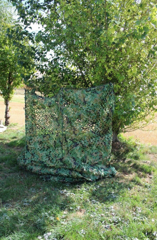 Folding pigeon hide
