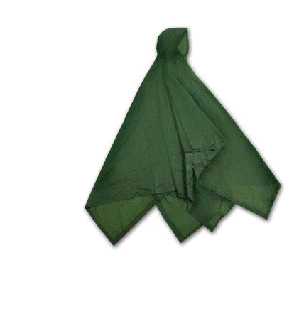 Reusable Plastic Adult Waterproof Poncho Camping Festival Walking Rain Coat Cape - Woodlands Enterprises Ltd