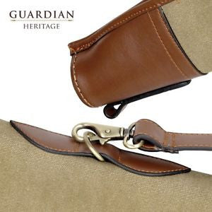 Guardian Heritage Leather & Canvas Gun slip - Woodlands Enterprises Ltd