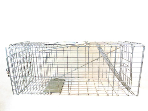 HEAVY DUTY Super Large spring cage trap - Woodlands Enterprises Ltd