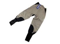Hyland American style cotton & Suede Breeches - Woodlands Enterprises Ltd