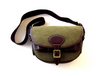 CANVAS & LEATHER GREEN LOADERS CARTRIDGE BAG