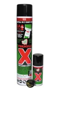 FORMULA X 125ML & 750ML Aerosols - Woodlands Enterprises Ltd