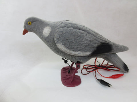 ELECRTONIC FLOCKED 12v FEEDING PIGEON
