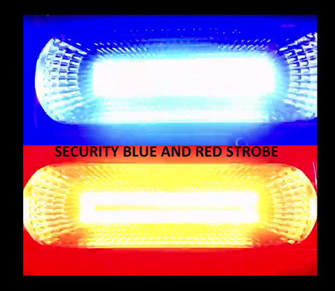 SUPER BRIGHT 120 LED HEAD TORCH WHITE LIGHT AND BLUE RED POLICE STROBE RECHARGABLE - Woodlands Enterprises Ltd