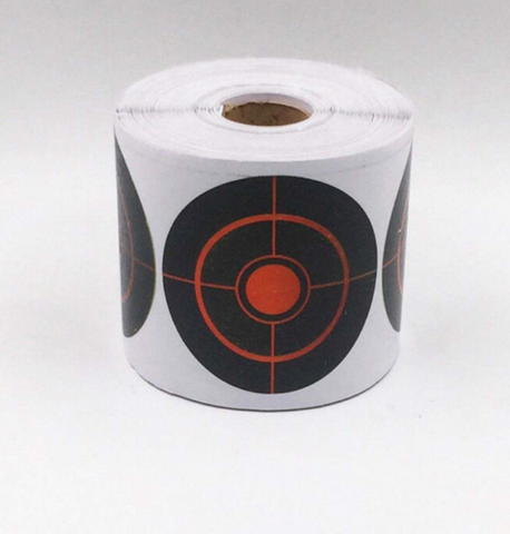 STRIKE AND SEE Splash targets roll of 250 adhesive targets