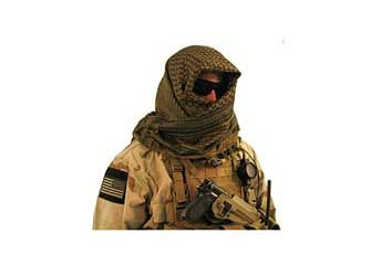 Camo Cotton SHEMAGH HEAD SCARF Military Keffiyeh Arab Army Woven SAS Veil Wrap - Woodlands Enterprises Ltd
