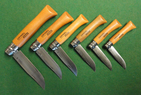 OPINEL locking pocket knives
