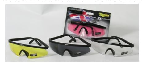 Single lens high impact polycarbonate Shooting Glasses (SL)