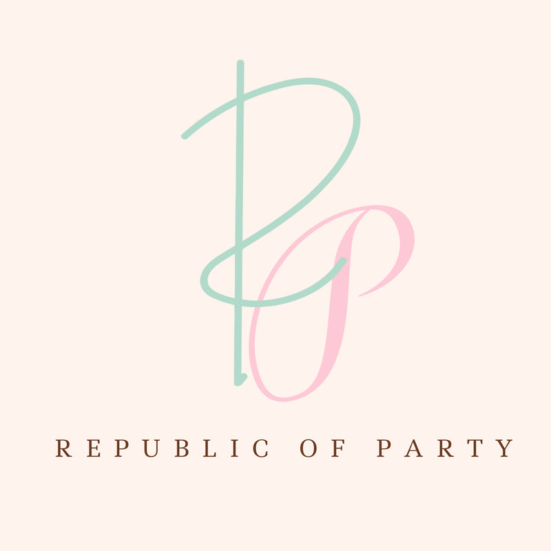 Republic Of Party custom party decorations and supplies for eco friendly parties and parties for different cultures