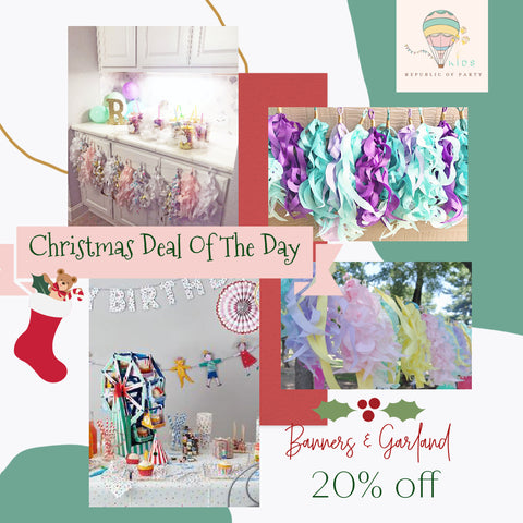 Banners and Garland Deal of the day