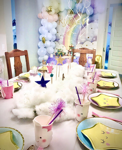 kids party table