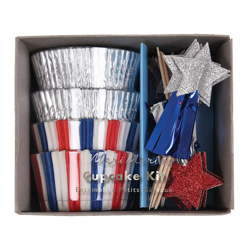 4th of july cupcake kit