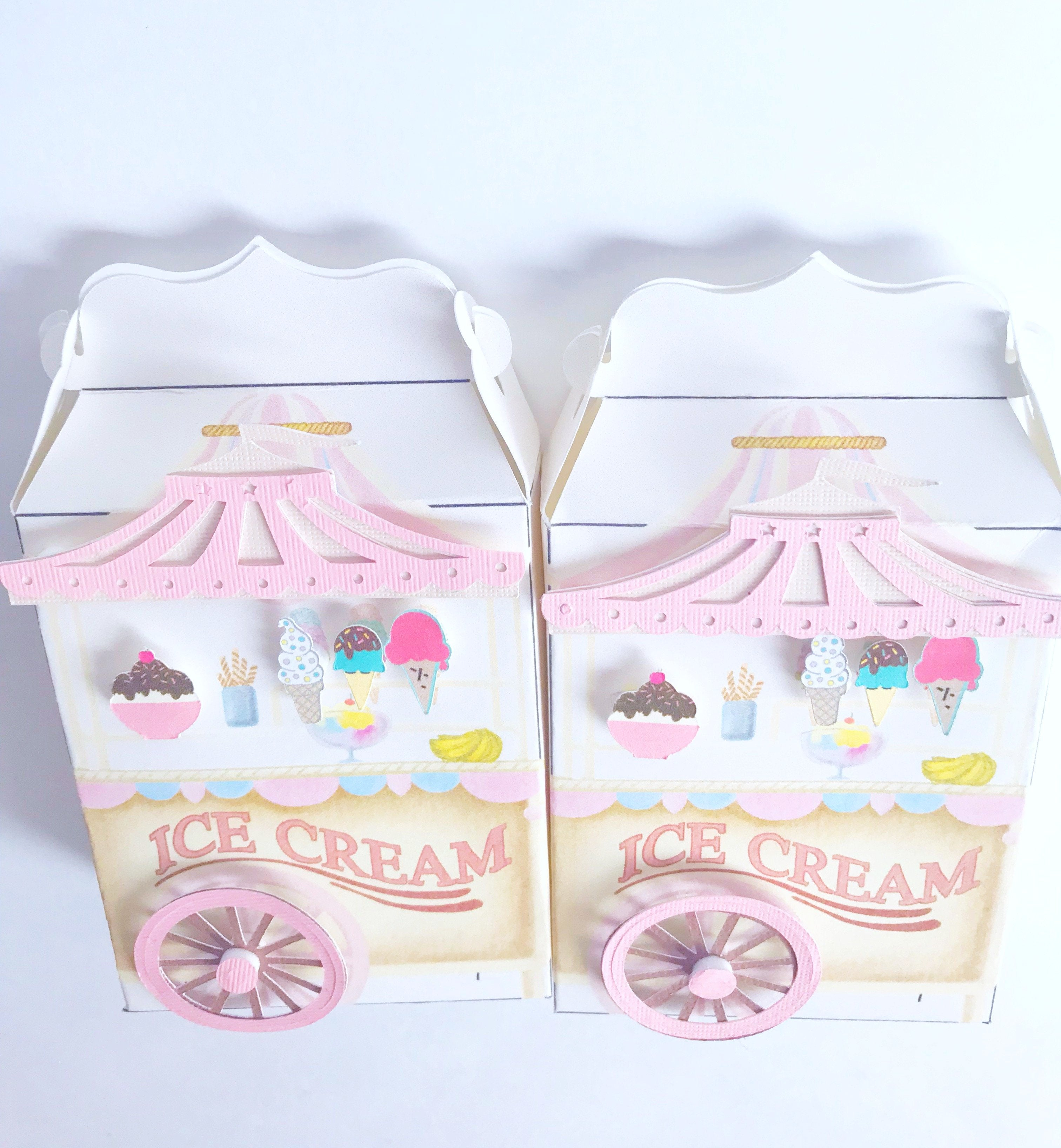 ice cream vintage circus party