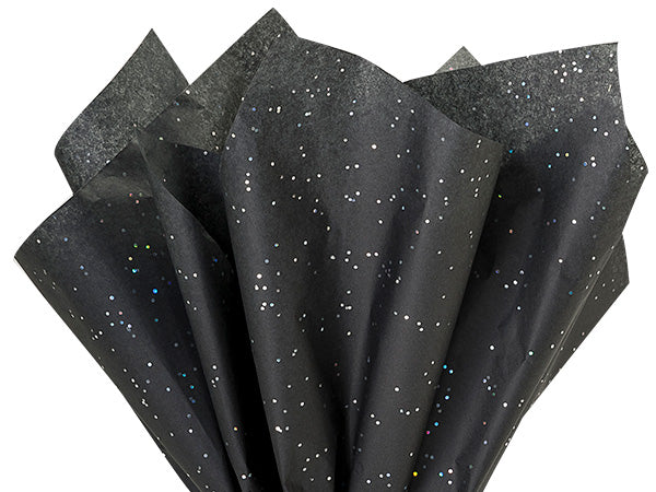 Black gemstone tissue paper