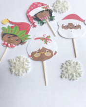 African American christmas party decorations