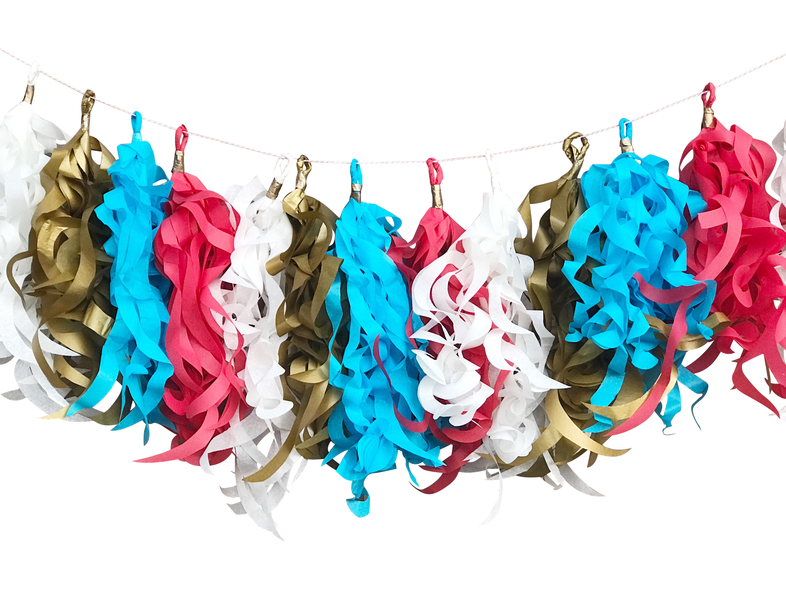 Circus Party tassel garland