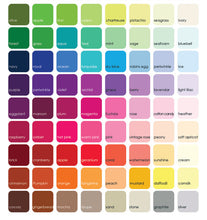 republic of Party color chart for party decorations