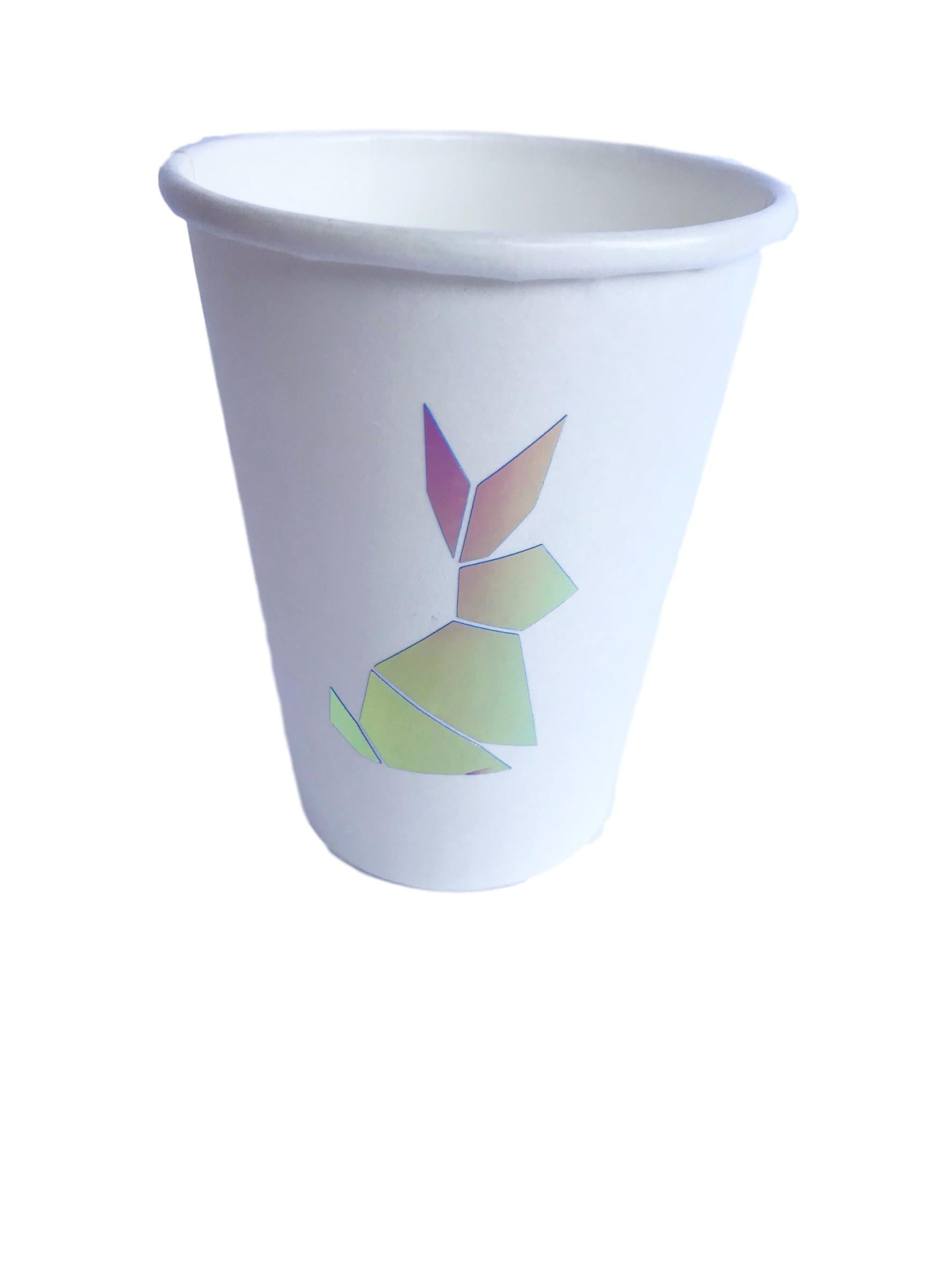 white easter bunny cups