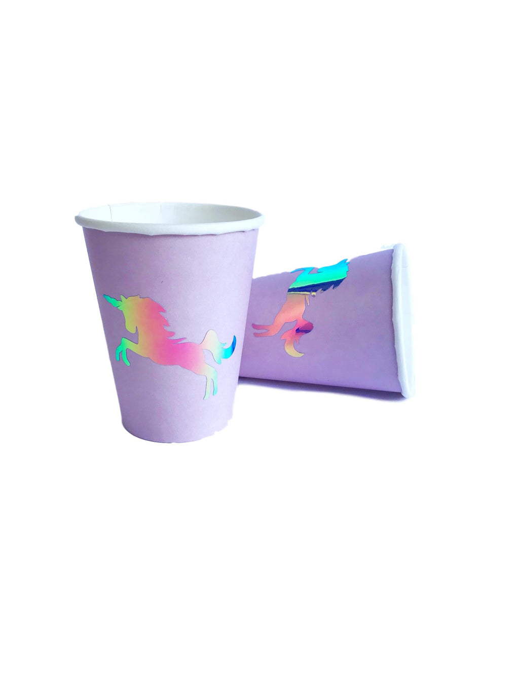 unicorn birthday party cups