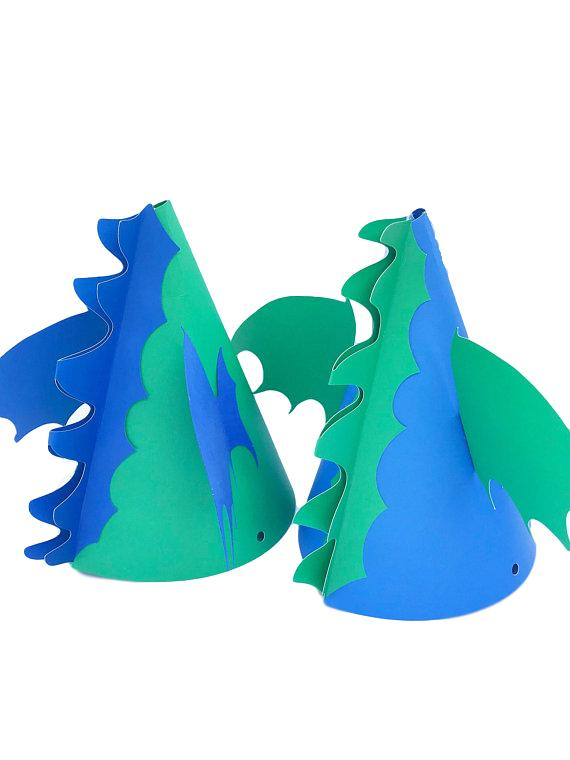 dragon birthday party hat
