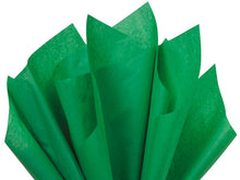 green festive recycled tissue paper